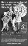 This is the advertisement from the Northwest Arkansas Morning News announcing the Grand Re-Location Celebration of the Rogers Daisy Airgun Museum on 11-14-04. 