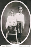 Lora and Aaron are shown in this early picture taken before any of their brothers and sisters were born.